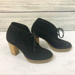 J Crew MacAlister suede lace up ankle boots